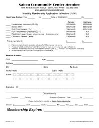 application form templates club membership p l statement template