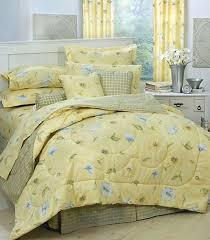 Yellow King Size Comforter Karin Maki Laura Yellow Daisy Floral Comforter Bed Set Twin Full