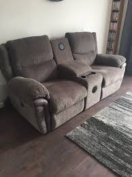 la z boy 2 seater recliner bluetooth speaker sofa in cambridge