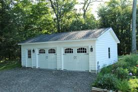 Single Pitch Roof Roosevelt A Frame Style One Story Garage The Barn Yard U0026 Great