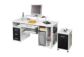 Schreibtisch Pc Shopthewall Computertisch Schreibtisch Pc Tisch Lotta In Sonoma