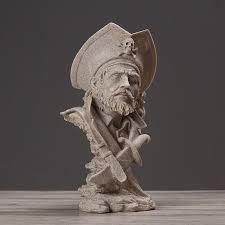 pirate home decor modern home decor resin pirate captain figurine home ev dekorasyon