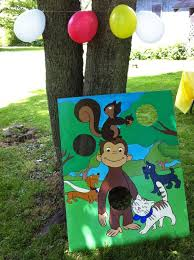 curious george party ideas ecoleeko curious george diy birthday party ideas