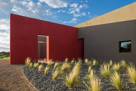 new mexico territorial style exterior contemporary with modern