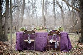 whimsical woodland purple and gold wedding ideas