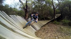 albany downhill mountain bike track wa youtube