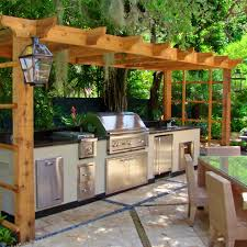 Best Backyard BBQ Station Images On Pinterest Outdoor Kitchen - Backyard bbq design