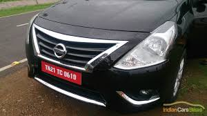 chrome nissan 2014 nissan sunny facelift review and images indian cars bikes