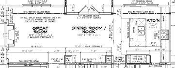 Kitchen Floorplan Floor Plans For Open Concept Kitchen Modern Hd
