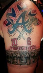 20 best atlanta braves tattoos images on pinterest tattoo ideas