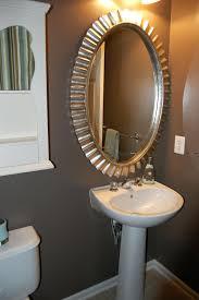 oval pivot mirrors for bathroom vanity decoration