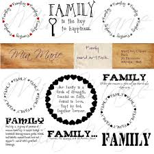 family sayings clipart