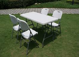 Folding Outdoor Table And Chairs Creative Folding Outdoor Table U2013 Home Designing