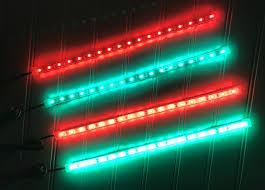 Marine Led Strip Lights by Amazon Com Boat Bow Led Lighting Red U0026 Green Kit Sports U0026 Outdoors