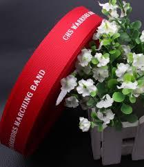 custom ribbon with logo aliexpress buy custom logo name brand grosgrain ribbon gift