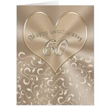 60th anniversary cards invitations greeting photo cards zazzle