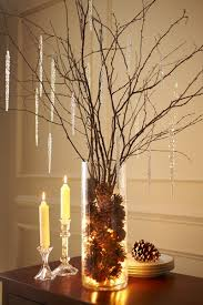 natural holiday decor idea beautiful birch branches christmas