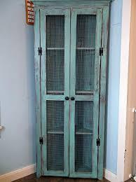 corner cabinet with doors amazon com rustic and distressed corner cabinet with doors and 4
