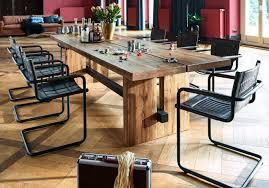 Esszimmer Eiche Gelaugt Esstisch Tisch Massive Balkeneiche Modell Dresden Von Bodahl