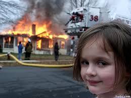 Disaster Girl Meme Generator - disaster girl meme generator captionator caption generator frabz