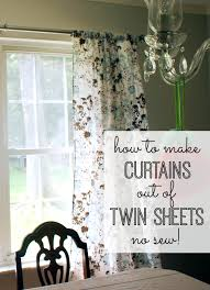 how to make curtains how to make curtains out of twin sheets