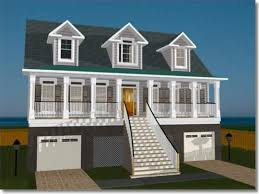 waterfront cottage plans narrow lot house plans with front garage waterfront walkout bat