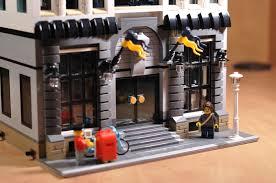 lego ideas police headquarters modular building