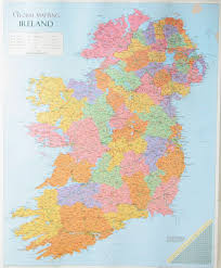 Map Of The Up Map Of Ireland Overview