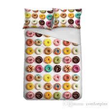 Duvet Donuts 3d Donuts Duvet Cover Set Children Quilt Cover Pillowcase Twin