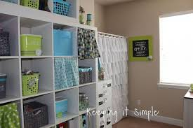 Room Craft Ideas - craft room reveal with decor ideas and craft supplies storage