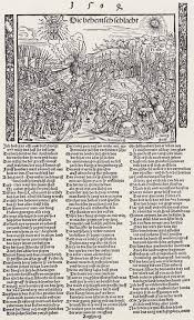 Burgkmair d. Ä., Hans: Sieg des Kaisers Maximilian über die Böhmen ...
