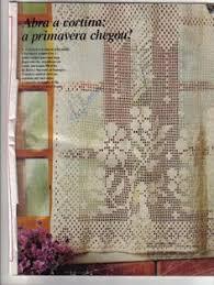 Crochet Lace Curtain Pattern Thread Crochet Curtain Pattern Crocheted Lace Curtains Pattern
