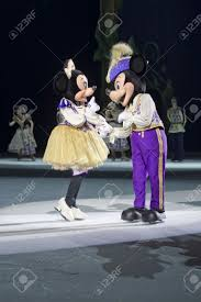 green bay wi march 10 mickey asking minnie mouse to dance