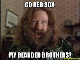 Red Sox Memes - go red sox my bearded brothers make a meme