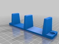 Sliding Closet Door Guide Sliding Closet Door Guides Floor 3d Models Thingiverse