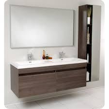 Floating Bathroom Vanity by Create Contemporary Look With Mid Century Modern Bathroom Vanity