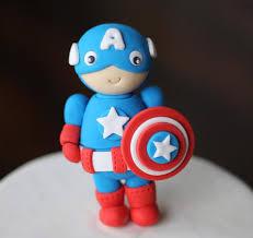 captain america cake topper fondant cake topper 20 captain america themed