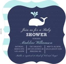 whale baby shower cheap boy baby shower invitations invite shop