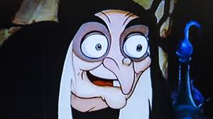 why are old women often the face of evil in fairy tales and