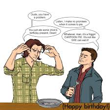 Supernatural Birthday Meme - supernatural birthday card lilbibby com