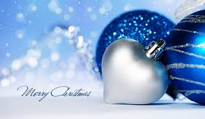 happy new year merry ornaments winter snow