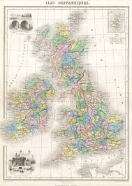 Map England by Ireland Map England