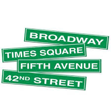 bulk party supplies big discounts on nyc sign cutouts 12 each