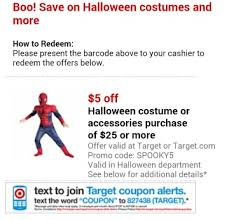 Halloween Costumes Coupons Target Halloween Costume Coupon Mylitter Deal