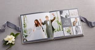 wedding photo album create your own wedding album from shutterfly once wed