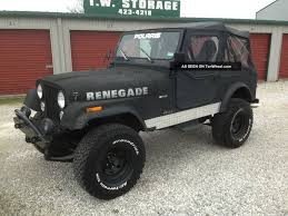 renegade jeep cj7 1985 jeep cj7 renegade image 212