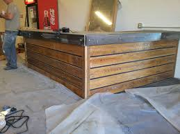 Pictures Of Reception Desks by Diy Reclaimed Barnwood Reception Desk There Is Plenty Of Lumber