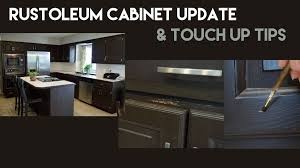 rustoleum kitchen cabinet update u0026 touch up tips youtube