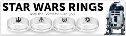 Star Wars Wedding Rings by Tungsten Star Wars Wedding Rings Eternal Tungsten