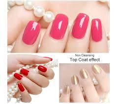 perfect summer non cleansing top coat uv led nail gel polish 8ml